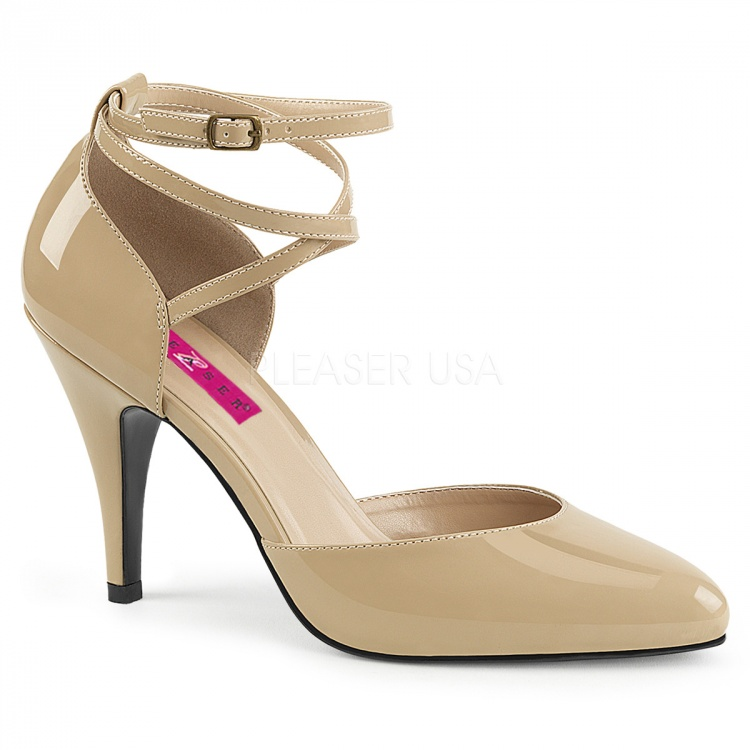 Cream Patent DOrsay Pumps Dream-408
