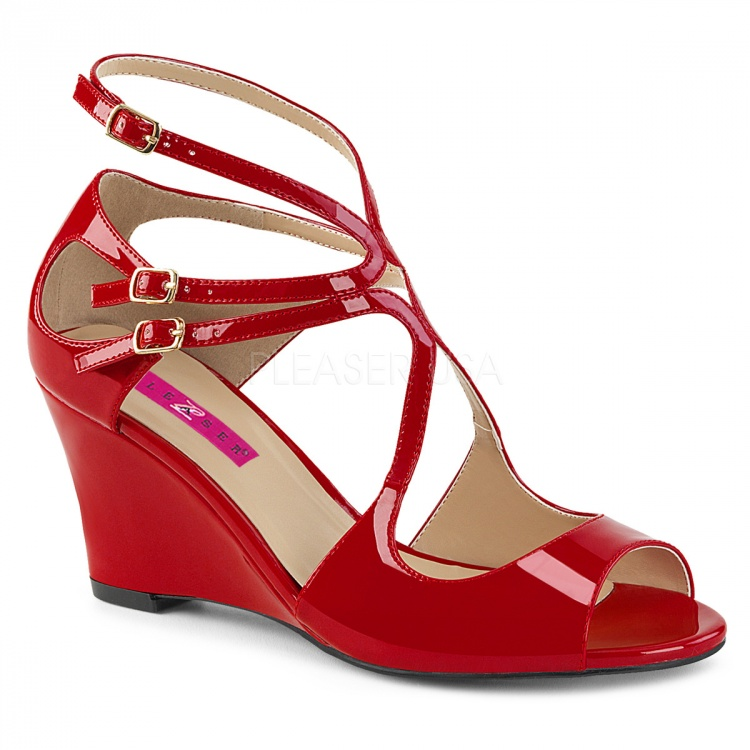 Red Patent Wedge Kimberly-04