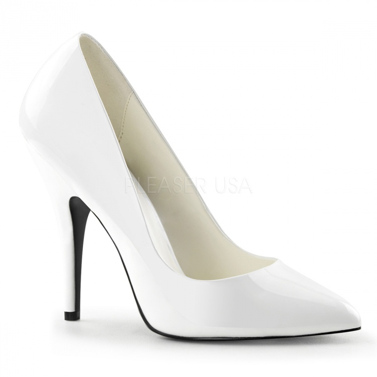 White patent Pumps Seduce-420